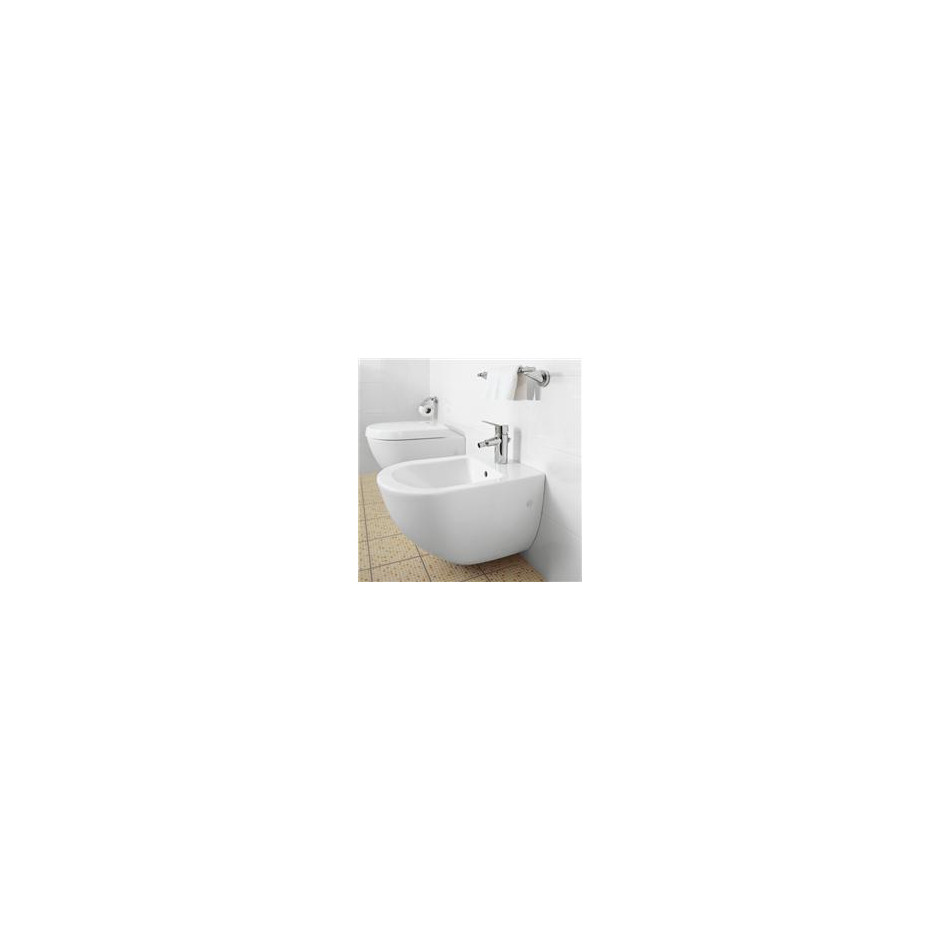 Villeroy & Boch Subway bidet, 370 x 560 mm, model wiszacy, Star White Ceramicplus - 12515_O2