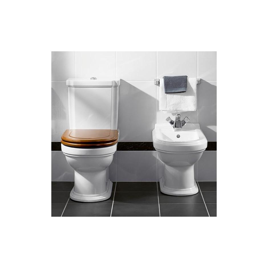 Villeroy & Boch Hommage Bidet stojący z podłogi 57.5x37 Biały Ceramicplus - 8745_A1