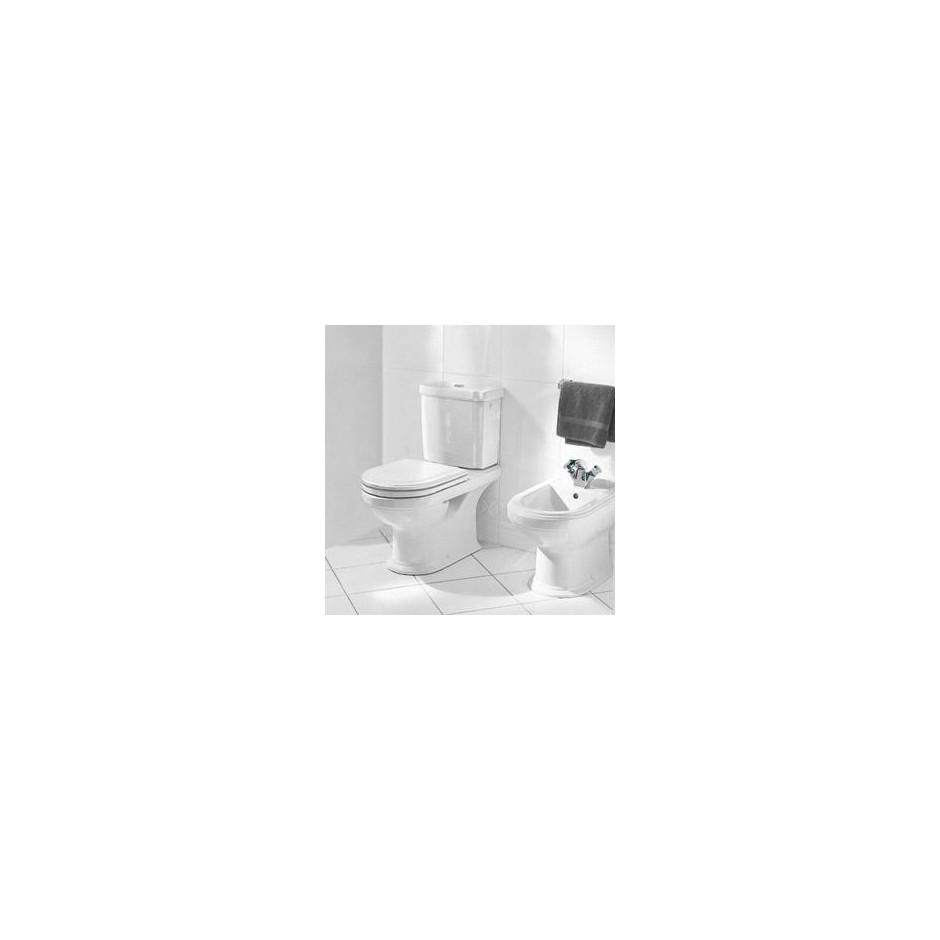 Villeroy & Boch Hommage bidet, 370 x 575 mm, model stojacy, do montazu blisko sciany, Star White Ceramicplus - 8746_O3