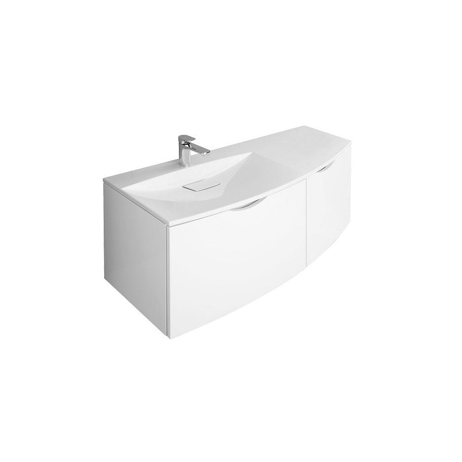 Villeroy & Boch Next2U Szafka podumywalkowa 120x49x48 Glossy White - 358069_O1