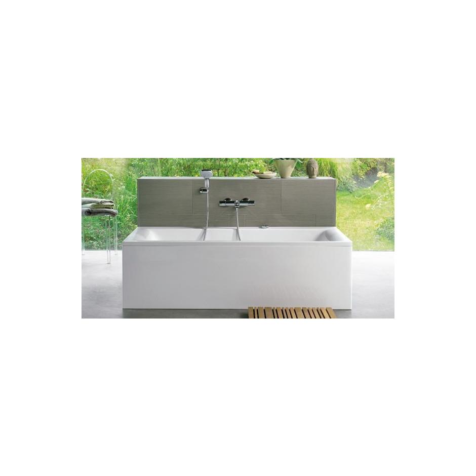Ideal Standard Connect wanna prostoktna 170x75cm + zestaw Ideal Waste biała - 366771_A1
