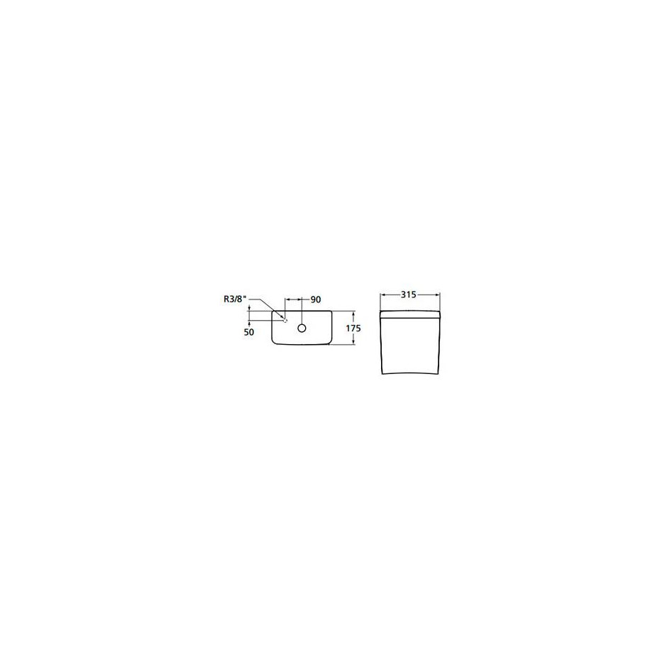 Ideal Standard Connect zbiornik WC WC 3/6l zasilenie z dołu - 366731_O2