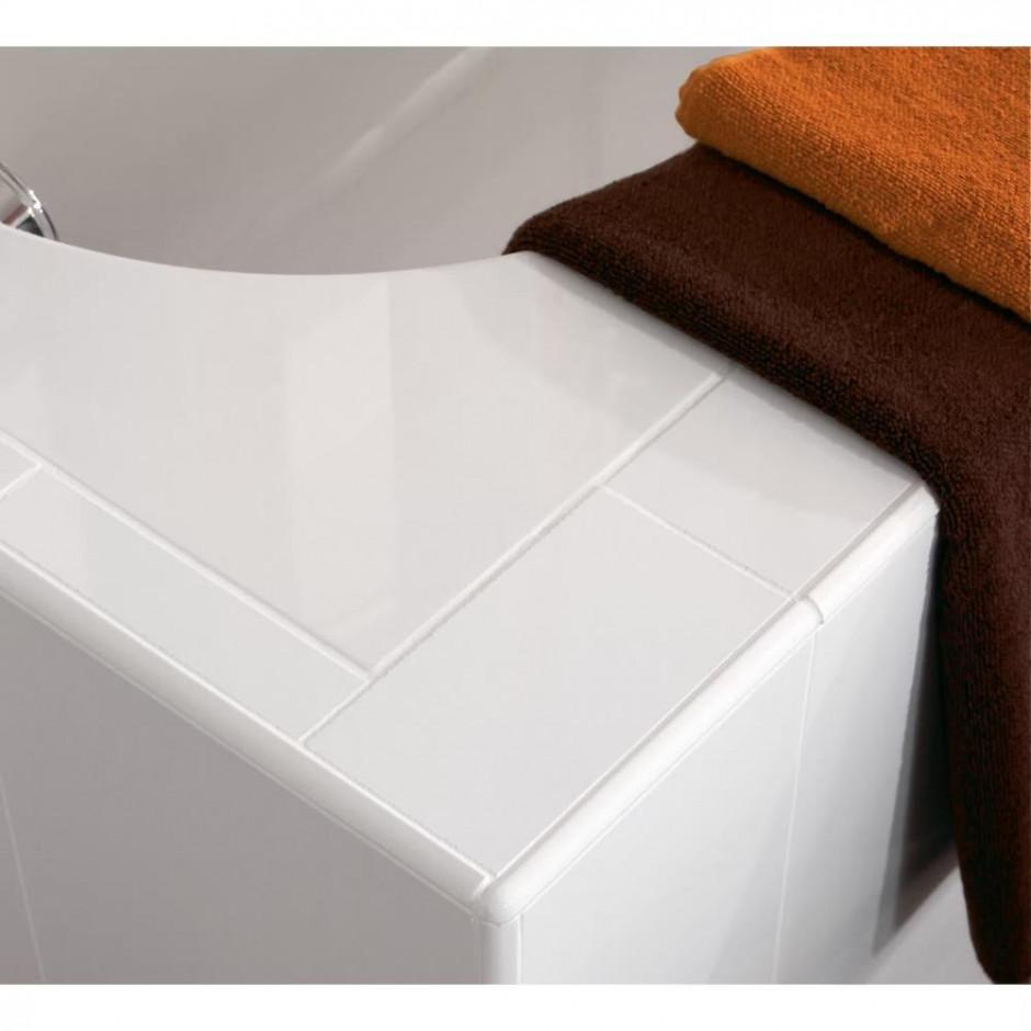 Villeroy & Boch Oberon Wanna prostokątna 1600 x 750 mm weiss alpin - 353926_T3