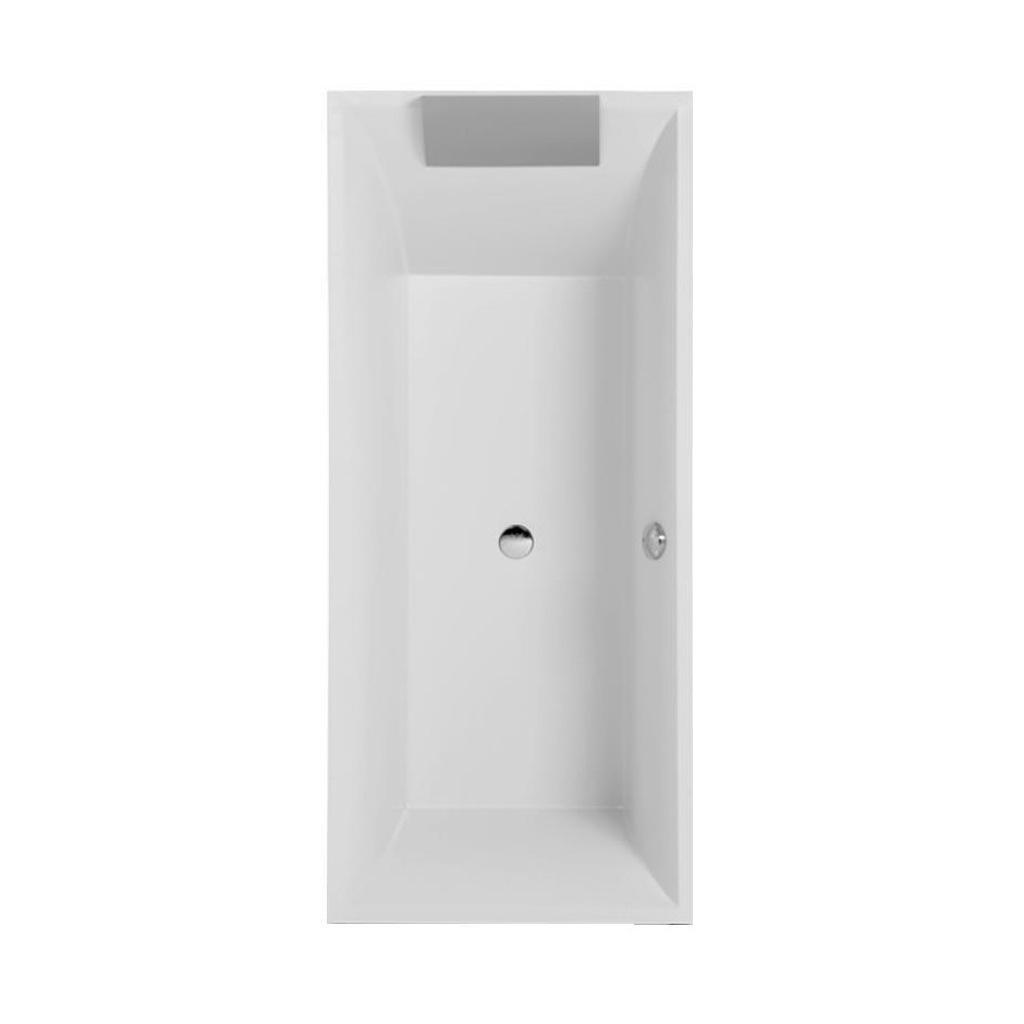 Villeroy & Boch Squaro wanna z hydro Combipool Entry White - 581722_O1
