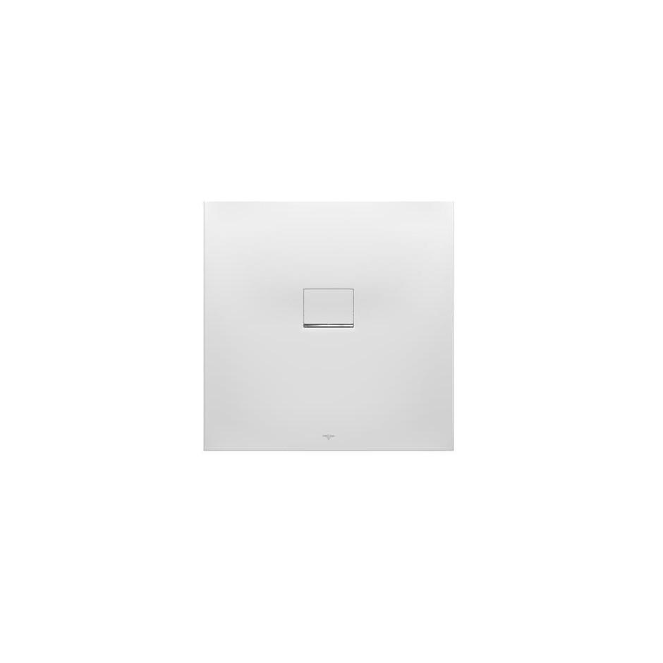 Villeroy & Boch Squaro Infinity brodzik 1000 x 1000 x 40 mm brązowy - 582398_O1