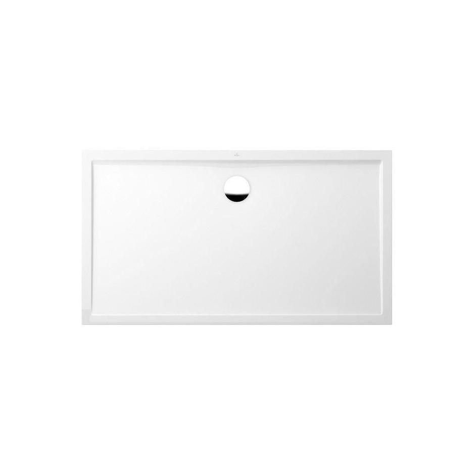 Villeroy & Boch Futurion Flat brodzik 1600 x 900 x 17 mm star white - 578937_O1