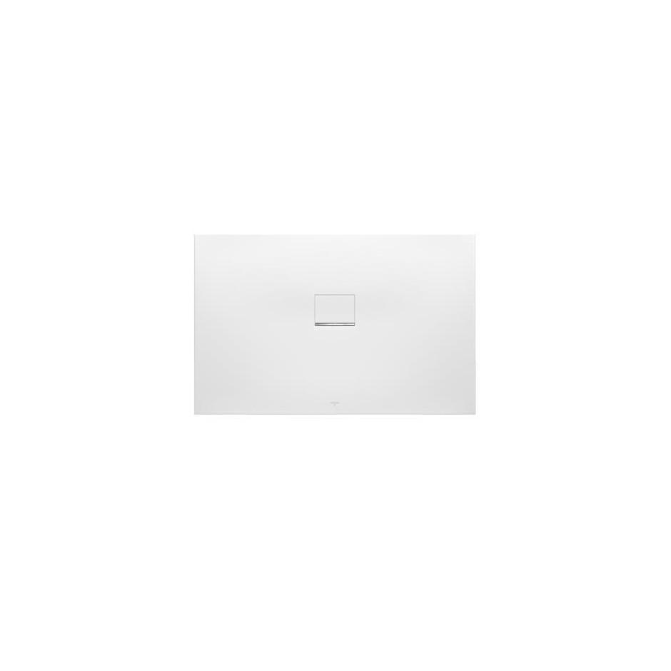 Villeroy & Boch Squaro Infinity brodzik 900 x 800 x 40 mm brązowy - 581585_O1