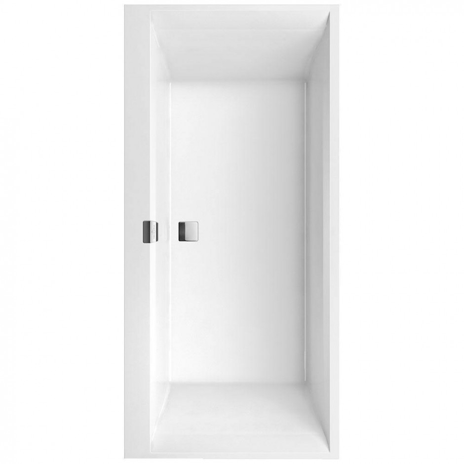 Villeroy & Boch Squaro Edge 12 wanna z hydro Hydropoll Entry White - 582189_O1