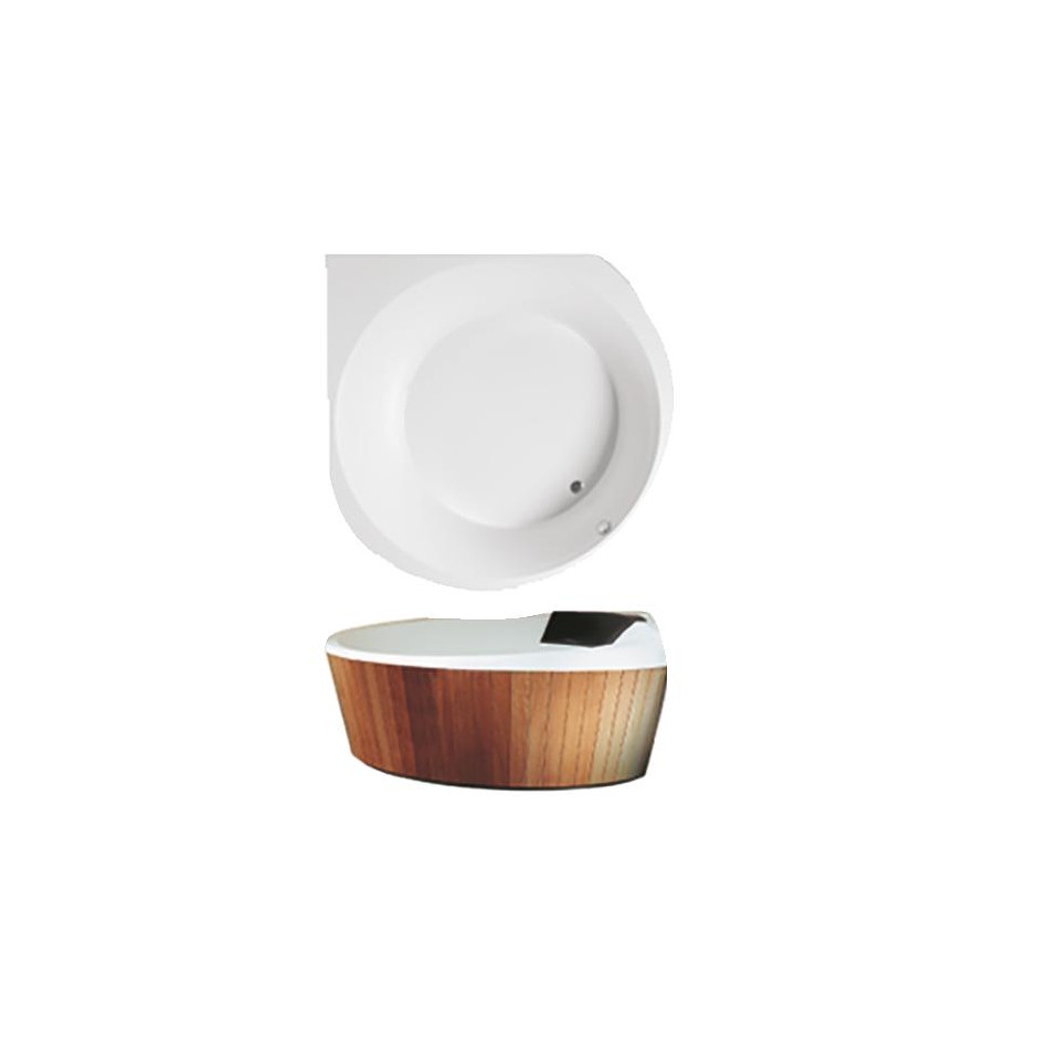 Villeroy & Boch Luxxus wanna z hydro Special Combipool Invisible Star White - 581812_O1