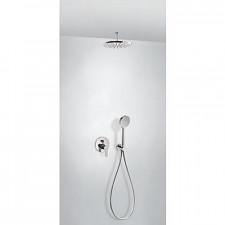 Tres Bm kompletny zestaw prysznicowy podtynkowy deszczownica średnica225mm chrom - 720617_O1