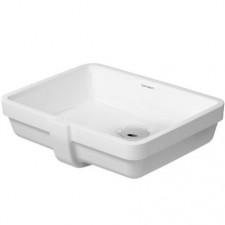 Duravit Vero umywalka podblatowa 43 biała WonderGliss - 450059_O1