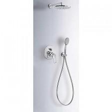 Tres K-Tres kompletny zestaw prysznicowy podtynkowy deszczownica o225mm chrom - 525558_O1