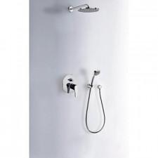Tres Eco-Tres kompletny zestaw prysznicowy podtynkowy deszczownica średnica200mm chrom - 612930_O1