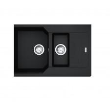 Franke zlewozmywak wbudowywany Fragranit+ Urban UBG 651-78 Onyx - 819983_O1