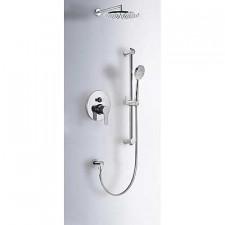 Tres Bm kompletny zestaw prysznicowy podtynkowy deszczownica o225mm chrom - 389345_O1