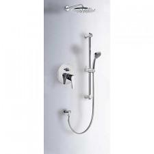 Tres Eco-Tres kompletny zestaw prysznicowy podtynkowy deszczownica o225mm chrom - 389392_O1