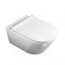 Catalano Zero Miska WC wisząca 50x35 +śruby mocujące (5KFST00) biała - 460203_O1