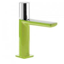 Tres Loft-Colors bateria umywalkowa stojąca zielony chrom - 457581_O1