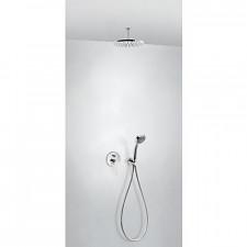 Tres Flat kompletny zestaw prysznicowy podtynkowy deszczownica średnica225mm chrom - 720702_O1