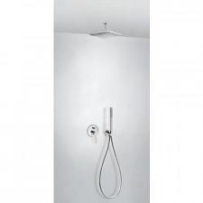 Tres Class kompletny zestaw prysznicowy podtynkowy deszczownica 250x250mm chrom - 720642_O1