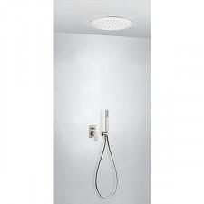 Tres Project kompletny zestaw prysznicowy podtynkowy deszczownica średnica380mm stalowy - 740719_O1