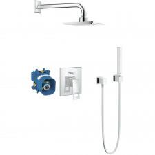 Grohe Eurocube Zestaw prysznicowy podtynkowy, deszczownica chrom - 524433_O1