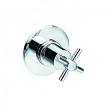 Steinberg Seria 250 zawór podtynkowy kompletny 3-drożny chrom - 463410_O1