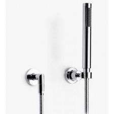 Dornbracht Tara. zestaw prysznicowy na pojedynczych rozetach biały mat - 161992_O1