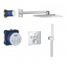 Grohe SmartControl kompletny zestaw prysznicowy podtynkowyChrom - 743020_O1