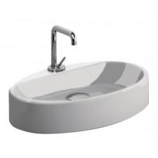 Kerasan Cento umywalka nablatowa 50x35 biała - 473214_O1