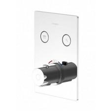 Steinberg Seria 390 Pushtronic kompletna bateria podtynkowa wannowo-prysznicowa termostatyczna - 771193_O1