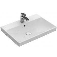 Villeroy & Boch Avento umywalka prostokątna 65x47, 1 otwór na baterię, bez przelewu - 687963_O1