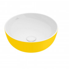 Villeroy & Boch Artis Umywalka stojąca na blacie 43 cm okrągła, bez miejsca na armaturę, bez przelewu - 688004_O1