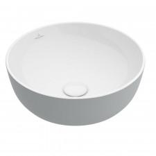 Villeroy & Boch Artis Umywalka stojąca na blacie 43 cm okrągła, bez miejsca na armaturę, bez przelewu - 687984_O1