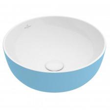 Villeroy & Boch Artis Umywalka stojąca na blacie 43 cm okrągła, bez miejsca na armaturę, bez przelewu - 688015_O1