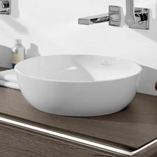 Villeroy & Boch Artis Umywalka stojąca d430 biała CeramicPlus - 578421_O1