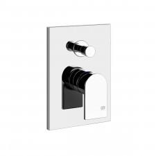 Gessi Bateria prysznicowa podtynkowa z przełącznikiem chrom - 793183_O1