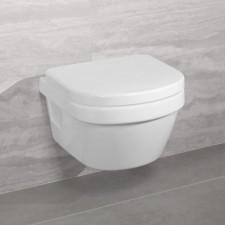 Villeroy & Boch Architectura miska WC wisząca xl, bezrantowa, DirectFlush 410 x 580 mm Weiss Alpin AntiBac - 579904_O1