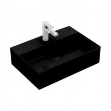 Villeroy & Boch Memento 2.0 Umywalka stojąca na blacie 50 cm prostokątna, 1/otw. możliwe 3/otw. bez przelewu, zalecenie: montaż z pewną odległością od ściany - 773466_O1