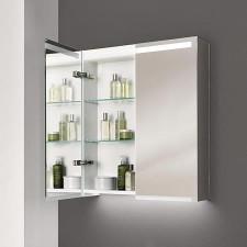 Geberit Option szafka z lustrem 75cm z oświetleniem, dwoje drzwi - 779447_O1