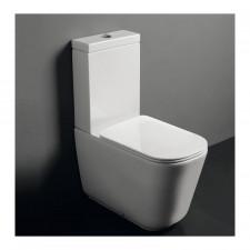 Kerasan Tribeca miska WC do kompaktu stojacy biały - 766005_O1