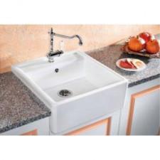 Blanco zlewozmywak ceramiczny PANOR 60 biały połysk z jednym otworem - 464520_O1
