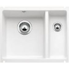 Blanco zlewozmywak ceramiczny SUBLINE 350/150-U biały połysk bez korka automatycznego - 551488_O1