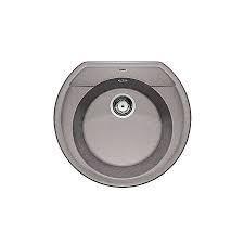 Blanco zlewozmywak Silgranit RONDOVAL 45 alumetalik bez korka automatycznego - 684215_O1
