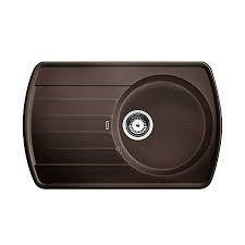 Blanco zlewozmywak Silgranit RONDOVAL 45 S kawowy bez korka automatycznego - 684270_O1