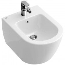Villeroy & Boch Subway 2.0 bidet, 375 x 565 mm, model wiszacy, Weiss Alpin Ceramicplus - 357262_O1