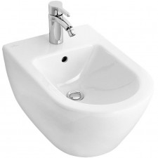 Villeroy & Boch Subway 2.0 bidet typu kompakt, 355 x 480 mm, model wiszacy, Weiss Alpin - 420001_O1