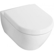 Villeroy & Boch Subway 2.0 miska WC wisząca krótka, 355x480mm, Star White Ceramicplus - 419014_O1