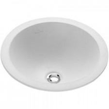 Villeroy & Boch Loop & Friends umywalka nablatowa, 390 mm srednicy, Weiss Alpin - 9011_O1