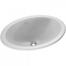 Villeroy & Boch Loop & Friends umywalka nablatowa, 570 x 405 mm, Weiss Alpin - 9091_O1